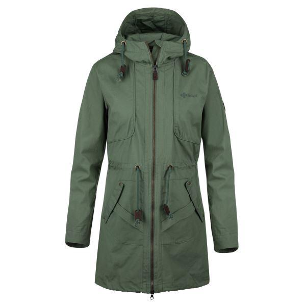 Női kabát KILPI PAU-W khaki