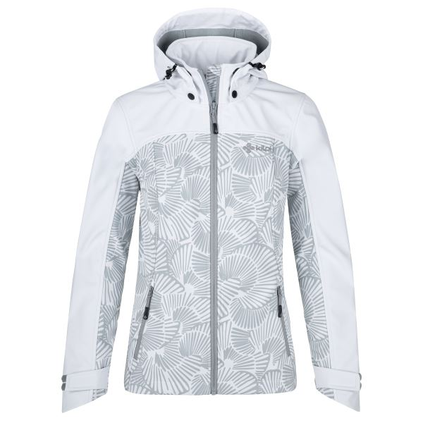 Női softshell kabát KILPI RAVIA-W fehér