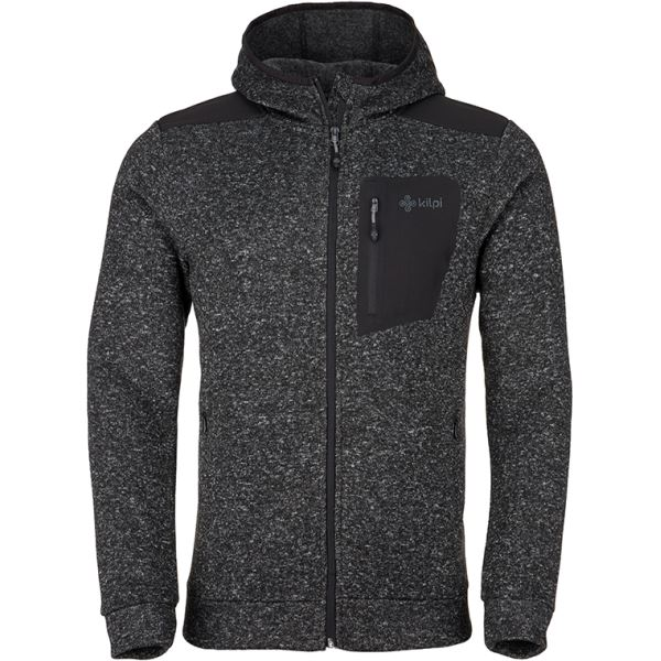 Férfi polár pulóver KILPI BANDAI-M fekete