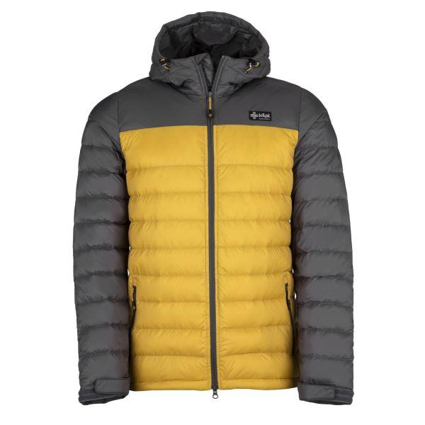 Férfi világos kabát KILPI SVALBARD-M sárga