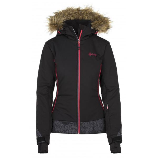 Női téli kabát KILPI VERA-W fekete