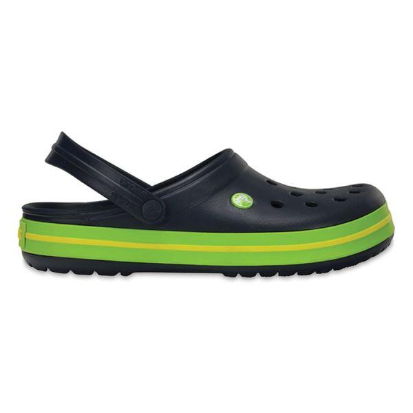 Unisex cipő Crocs Crocband ™ Clog sötétkék / zöld