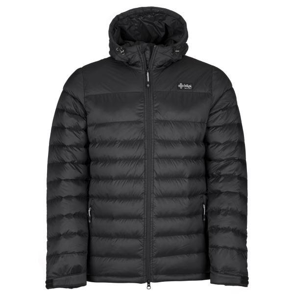 Férfi könnyű kabát KILPI SVALBARD-M fekete