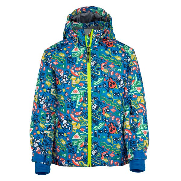 Gyermek téli kabát KILPI BENNY-JB kék