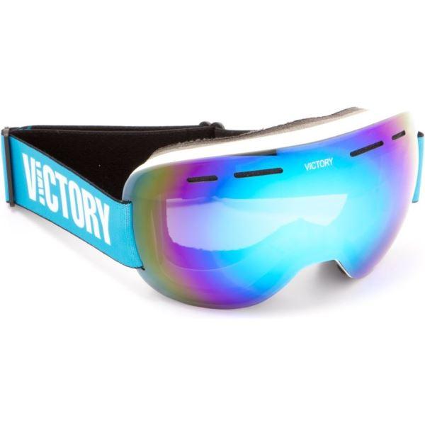 Unisex síszemüveg Victory SPV 615B fehér / kék