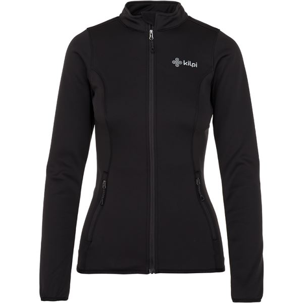 Női stretch pulóver gerinccel KILPI PROTEC-W fekete