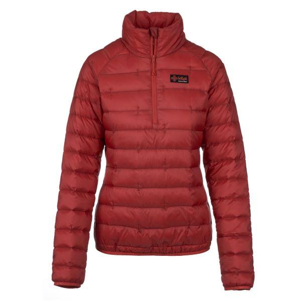 Női steppelt kabát KILPI EDMON-W piros
