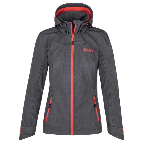 Női softshell kabát KILPI RAVIA-W szürke