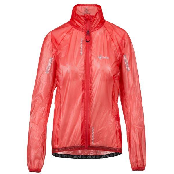 Női ultrakönnyű kabát KILPI RAINAR-W rózsaszín