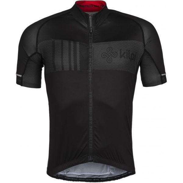 Férfi kerékpáros mez KILPI CHASER-M fekete