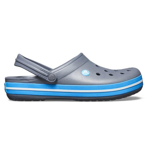 Crocs CROCBAND férfi cipő szürke / kék