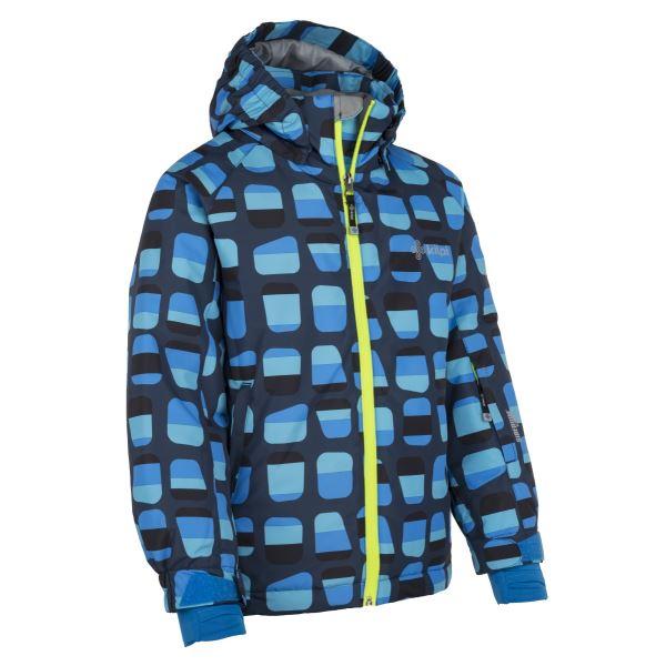 Gyermek téli kabát KILPI BENNY-JB sötétkék