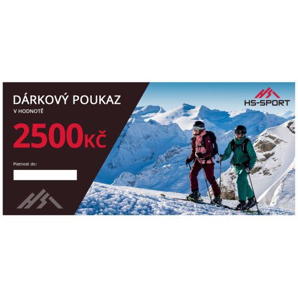 Ajándék utalvány márkás ruhákhoz 2500 CZK értékben