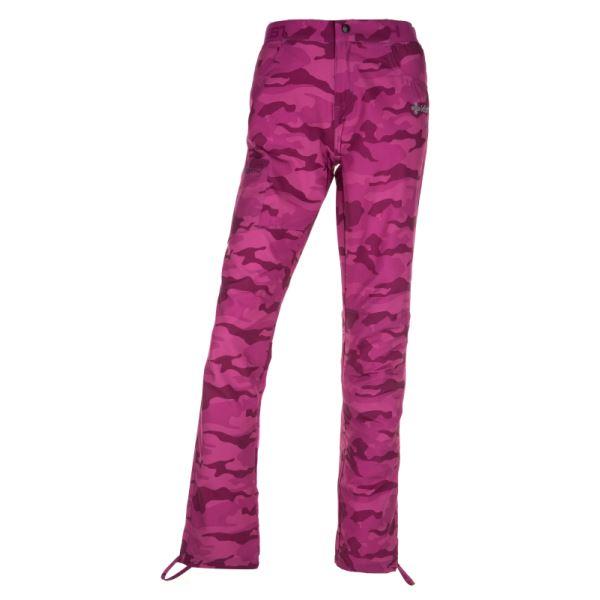 Női szabadtéri nadrág KILPI MIMICRI-W rózsaszín