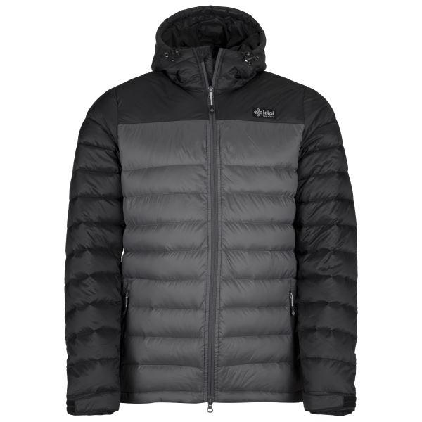Férfi világos kabát KILPI SVALBARD-M sötétszürke