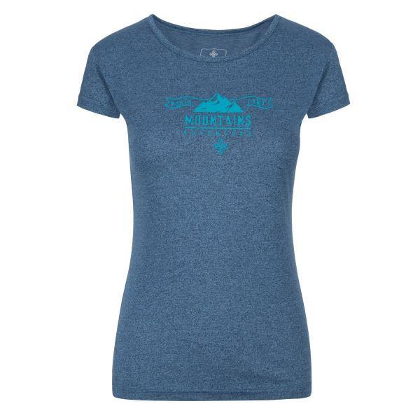 Női póló KILPI GAROVE-W kék