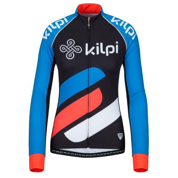 Női kerékpáros mez KILPI RAPITA-W kék