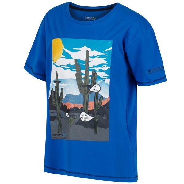 Gyerek póló Regatta BOSLEY kék