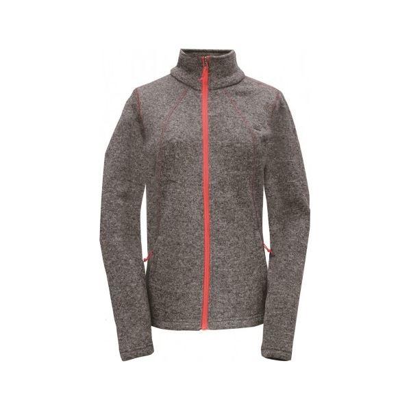 Női polár pulóver 2117 LUSTEBO sötétszürke