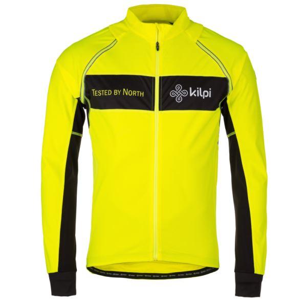 Férfi funkcionális kabát KILPI ZESTER-M sárga