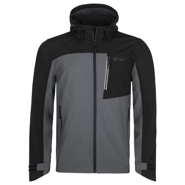 Férfi softshell kabát KILPI RAVIO-M sötétszürke