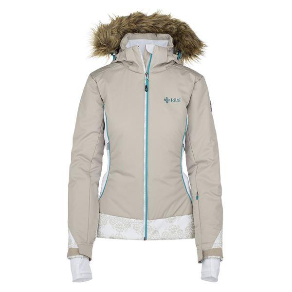 Női téli kabát KILPI VERA-W bézs