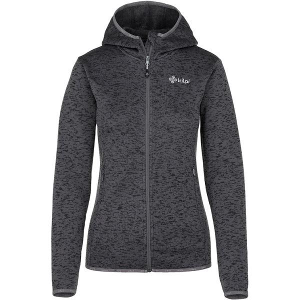 Női polár pulóver KILPI BANDAI-W sötétszürke