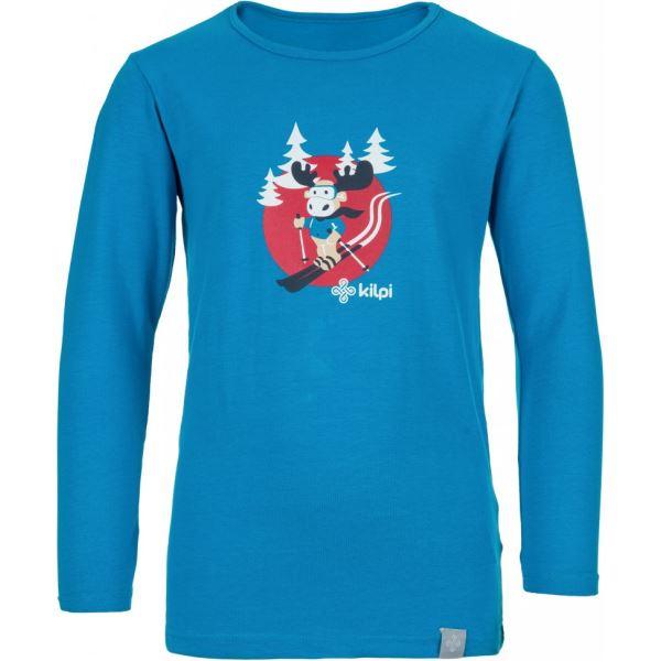 Gyermek póló KILPI LERO-J kék