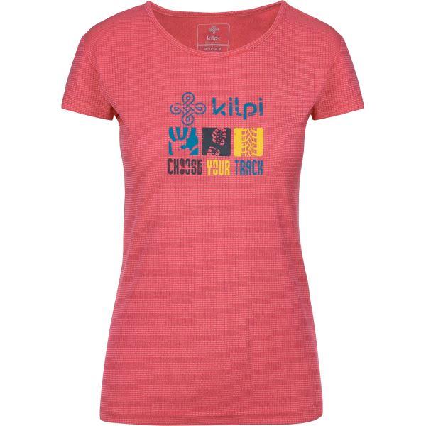 Női póló KILPI GIACINTO-W rózsaszín