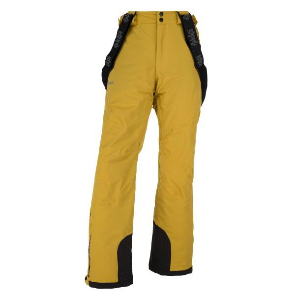 Férfi téli sínadrág KILPI METHONE-M sárga