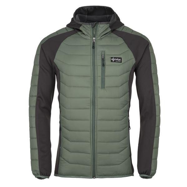 Férfi steppelt kabát KILPI ADISA-M khaki