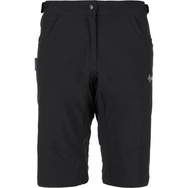 Női kerékpáros nadrág KILPI TRACKEE-W fekete