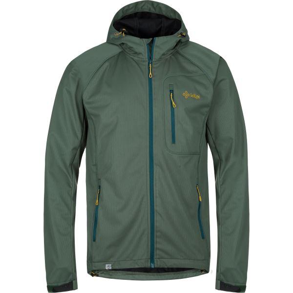 Férfi softshell kabát KILPI ENYS-M khaki