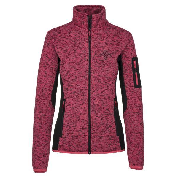 Női polár pulóver KILPI RIGANA-W rózsaszín