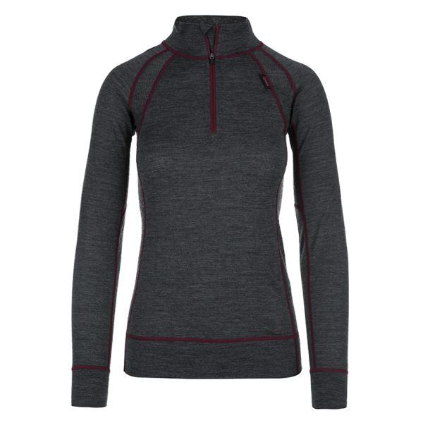 Női termál póló KILPI JAGER-W sötétszürke