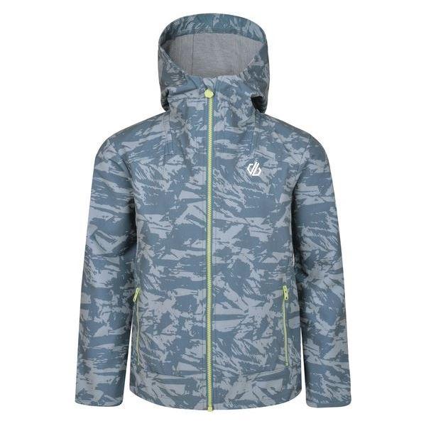 Gyermek softshell kabát Dare2b GIFTED szürke