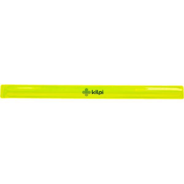 Unisex fényvisszaverő kézpánt KILPI REFLECTOR-U sárga