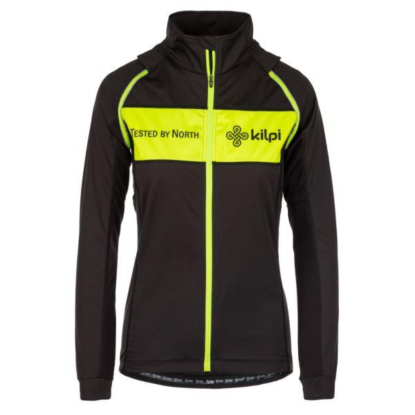 Női funkcionális kabát KILPI ZESTER-W sárga