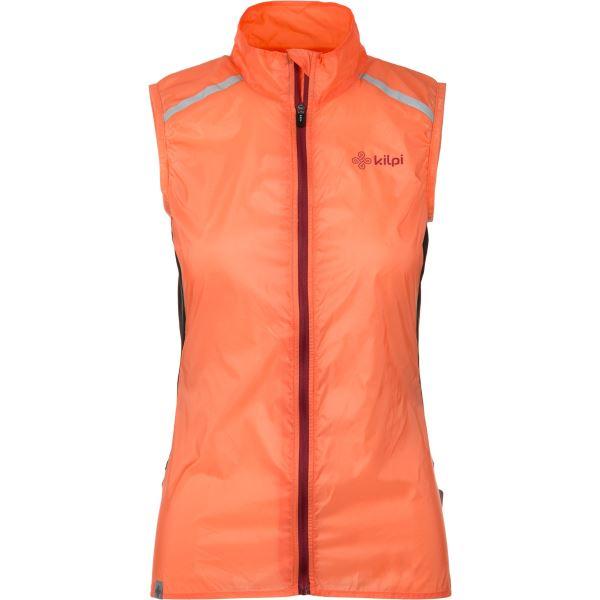 Női ultrakönnyű mellény KILPI FLOW-W narancssárga