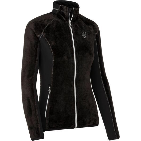Női polár pulóver KILPI SKATHI-W fekete