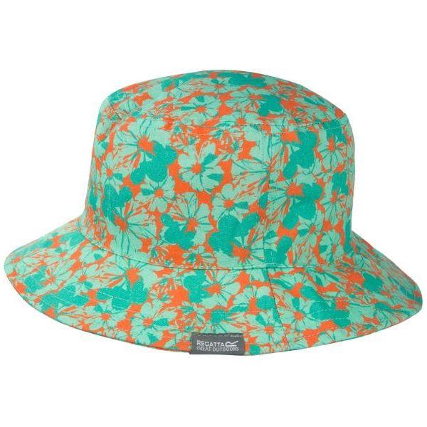 Gyerek nyári kalap Regatta CRUZE türkiz / narancs
