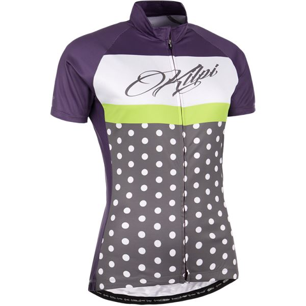 Női kerékpáros mez KILPI DOTTY-W lila