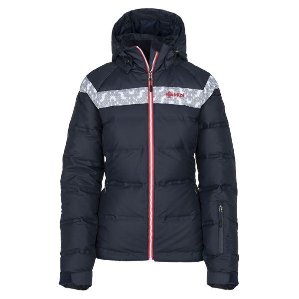 Női téli kabát KILPI SYNTHIA-W sötétkék