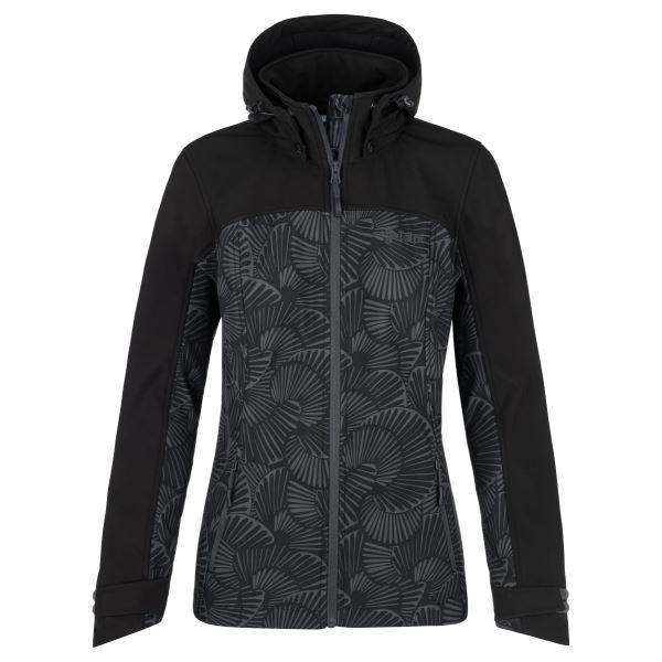 Női softshell kabát KILPI RAVIA-W sötétszürke
