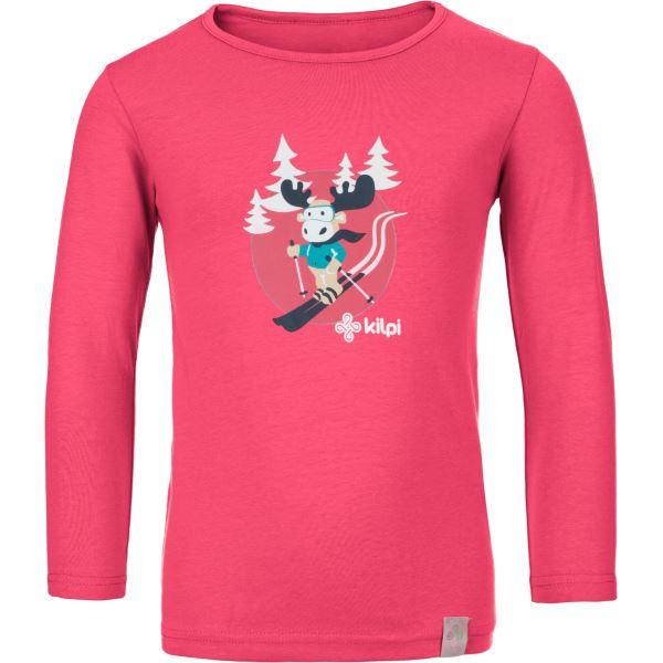 Gyermek póló KILPI LERO-J rózsaszín