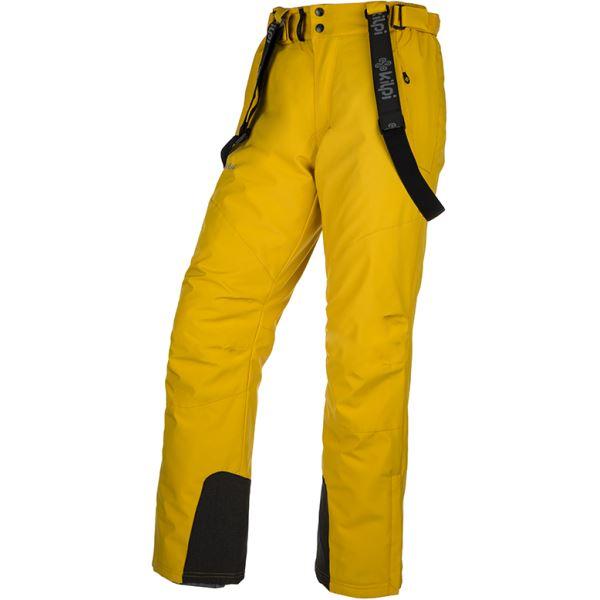 Férfi sínadrág KILPI MIMAS-M sárga