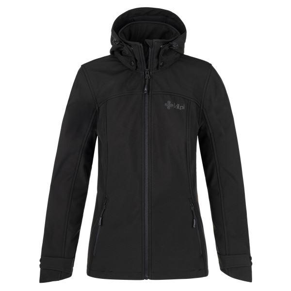 Női softshell kabát KILPI RAVIA-W fekete