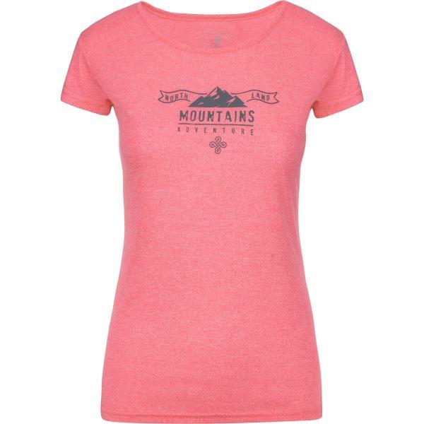 Női póló KILPI GAROVE-W rózsaszín
