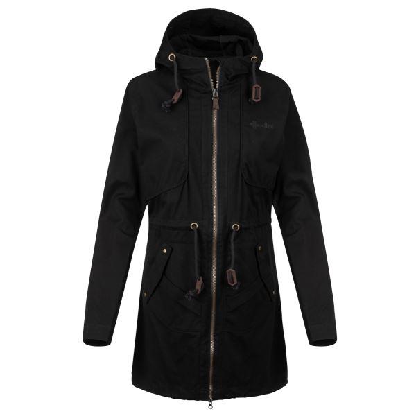 Női kabát KILPI PAU-W fekete