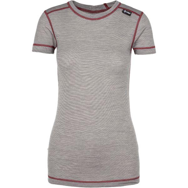 Női funkcionális póló KILPI MERIN-W sötétszürke